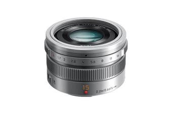 Panasonic Leica DG SUM 15mm/F1.7 ASPH Lens Silver - FREE DELIVERY