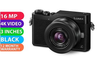 Panasonic Lumix DC-GF10 Kit (12-32) Digital Camera Black - (FREE DELIVERY)