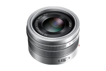 Panasonic Leica DG SUMMILUX 15mm/F1.7 ASPH Silver Lens - FREE DELIVERY