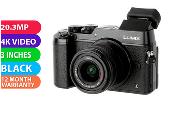 Panasonic Lumix DMC-GX8K kit (14-42 II) Black - (FREE DELIVERY)