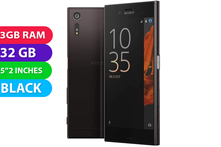 Sony Xperia XZ (32GB, Black) - Used as Demo