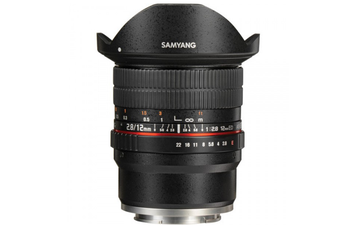Samyang 12mm F/2.8 ED AS NCS Fisheye Lens for Sony E - FREE DELIVERY