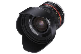 Samyang 12mm f/2.0 NCS CS Lens for Sony E - FREE DELIVERY