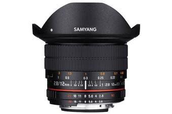 Samyang 12mm f/2.8 ED AS NCS Fish-eye Lens for Nikon - FREE DELIVERY