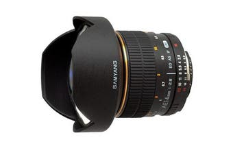 Samyang AE 14mm f/2.8 ED AS IF UMC Aspherical Lens For Nikon - FREE DELIVERY