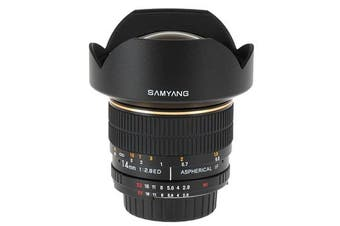 Samyang 14mm f/2.8 IF ED UMC Aspherical Lens For Canon - FREE DELIVERY