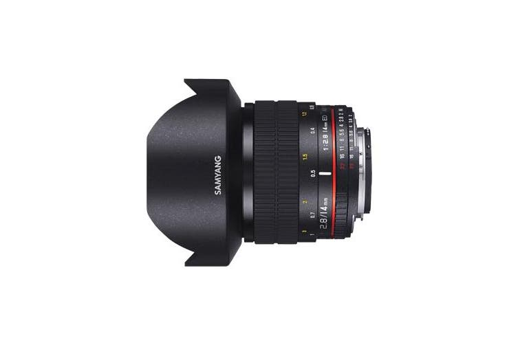 Brand New Special Price Samyang 14mm f/2.8 IF ED UMC Aspherical (Sony A) Lens (6 MONTH WARRANTY)