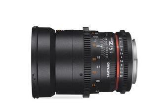 Samyang 35mm T1.5 AS UMC VDSLR MK II for Nikon - FREE DELIVERY