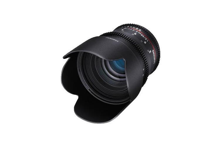 Samyang 50mm T1.5 AS UMC Cine Lens for Canon - FREE DELIVERY