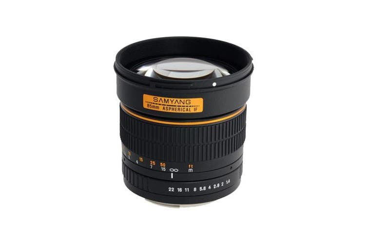 Samyang 85mm f/1.4 Aspherical IF (Canon) - FREE DELIVERY