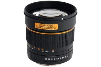 Samyang 85mm f/1.4 Aspherical IF (Sony) - FREE DELIVERY
