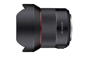 Samyang AF 14mm F2.8 EF Canon Lens - FREE DELIVERY