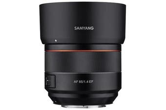 Samyang AF 85mm F1.4 EF Canon Lens - FREE DELIVERY