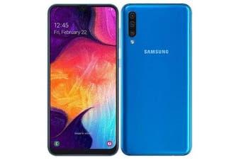 Samsung Galaxy A50 Dual SIM 4G LTE (4GB RAM, 128GB, Blue) - FREE DELIVERY