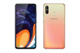Samsung Galaxy A60 Dual SIM 4G LTE (6GB RAM, 128GB, Orange) - FREE DELIVERY