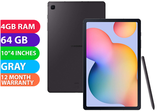 Samsung Galaxy Tab S6 Lite Wifi (4GB RAM, 64GB, Oxford Gray) - FREE DELIVERY