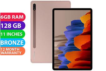 Samsung Galaxy Tab S7 T870 Wifi (6GB RAM, 128GB, Mystic Bronze) - FREE DELIVERY