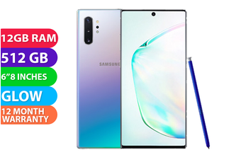 Samsung Galaxy Note 10+ Plus Dual SIM 4G LTE (512GB, Glow) - FREE DELIVERY