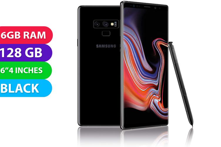 Samsung Galaxy Note 9 4G LTE (128GB, Black) - Used as Demo
