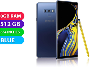 Samsung Galaxy Note 9 4G LTE (512GB, Blue) - Used as Demo