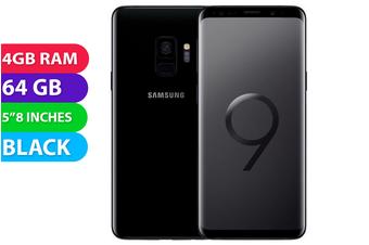 Samsung Galaxy S9 4G LTE (64GB, Black) - Used as Demo