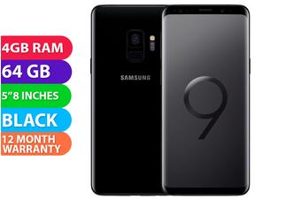 Samsung Galaxy S9 Dual SIM 4G LTE (4GB RAM, 64GB, Midnight Black) - FREE DELIVERY