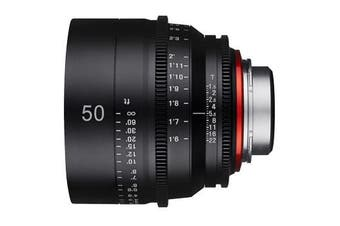 Samyang Xeen 50mm T1.5 Lens for Sony - FREE DELIVERY