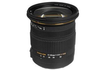 Sigma 17-50mm f/2.8 EX DC OS HSM Zoom Lens with APS-C Sensors (Canon) - FREE DELIVERY