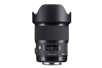 Sigma 20mm f/1.4 DG HSM Art Lens for (Nikon) - FREE DELIVERY