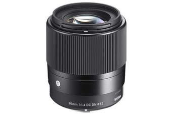 Sigma 30mm f/1.4 DC DN Contemporary Lens Sony E - FREE DELIVERY