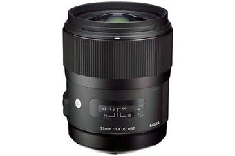 Sigma 35mm F1.4 DG HSM Lens (Canon) - FREE DELIVERY