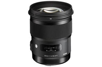 Sigma 50mm f/1.4 DG HSM Art Lens for Canon - FREE DELIVERY
