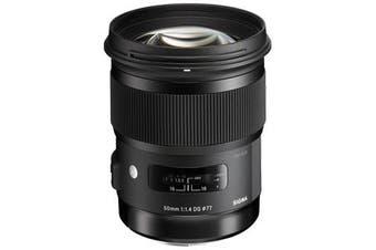 Sigma 50mm f/1.4 DG HSM Art Lens for Nikon - FREE DELIVERY