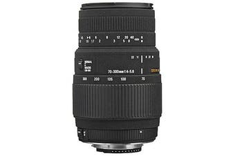 Sigma 70-300mm F4-5.6 DG MACRO Lens for Nikon - FREE DELIVERY