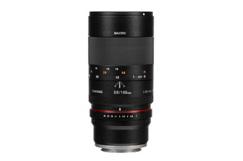 Samyang 100mm F2.8 ED UMC Macro Lens for Sony E - FREE DELIVERY