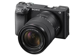 Sony Alpha A6400 (18-135mm) Kit Black - (FREE DELIVERY)