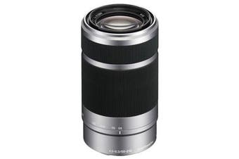 Sony E 55-210mm F4.5-6.3 OSS Silver Lens - FREE DELIVERY