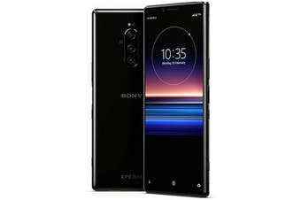 Sony Xperia 1 Dual SIM 4G LTE (128GB , Black) - FREE DELIVERY