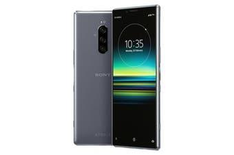 Sony Xperia 1 Dual SIM 4G LTE (128GB , Grey) - FREE DELIVERY
