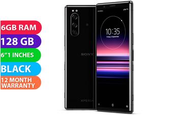 Sony Xperia 5 J9210 Dual SIM 4G LTE (6GB RAM,128GB, Black) - FREE DELIVERY