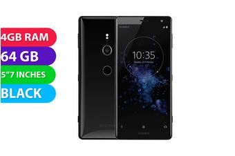 Sony Xperia XZ2 (64GB, Black) - Used as Demo