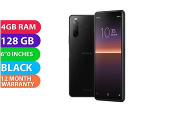 Sony Xperia 10 II Dual SIM 4G LTE (4GB RAM, 128GB, Black) - FREE DELIVERY