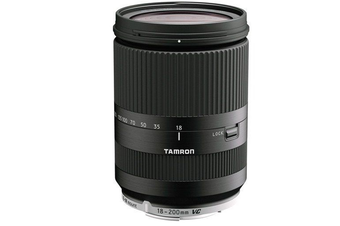 Tamron 18-200mm f/3.5-6.3 Di III VC Lens for Canon EOS M Black - FREE DELIVERY