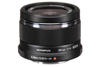 Olympus M.Zuiko Digital 25mm F1.8 Lens Black - FREE DELIVERY