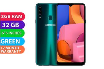 Samsung Galaxy A20S Dual SIM 4G LTE (3GB RAM, 32GB) Green - FREE DELIVERY