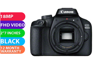 Canon 4000d Black - FREE DELIVERY