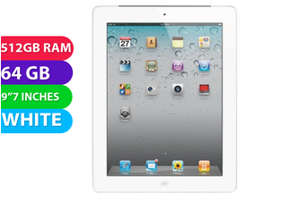 Apple iPad 2 Wifi (64GB, White) - Used as Demo
