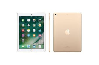 Apple iPad 5 9.7-inch Wifi + Cellular (128GB, Gold) - Used as Demo