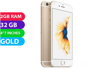 Apple Iphone 6S 4G LTE (32GB, Gold) - Used as Demo