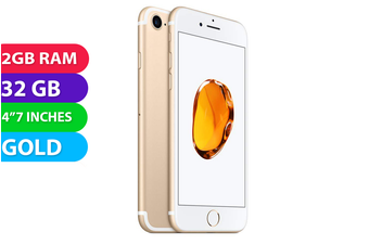 Apple iPhone 7 4G LTE (32GB, Gold) - As New